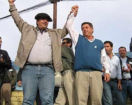 De Angeli en Macachín La Pampa cerca de 4000 personas