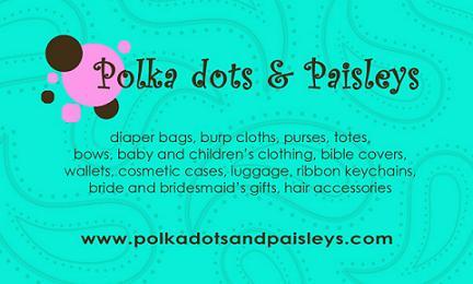 Polka dots & Paisleys