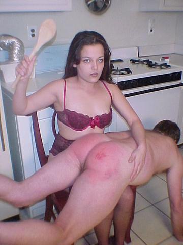 wooden spoon spanking domestic discipline