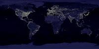 Luces de La Tierra desde el espacio