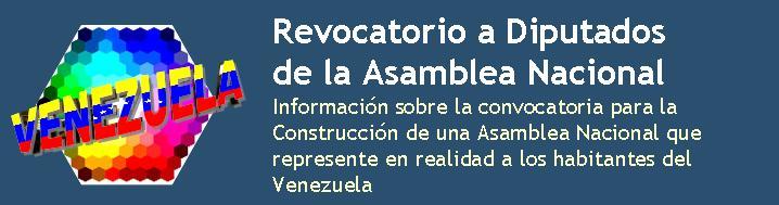 Por una Asamblea Nacional de Venezuela Legítima