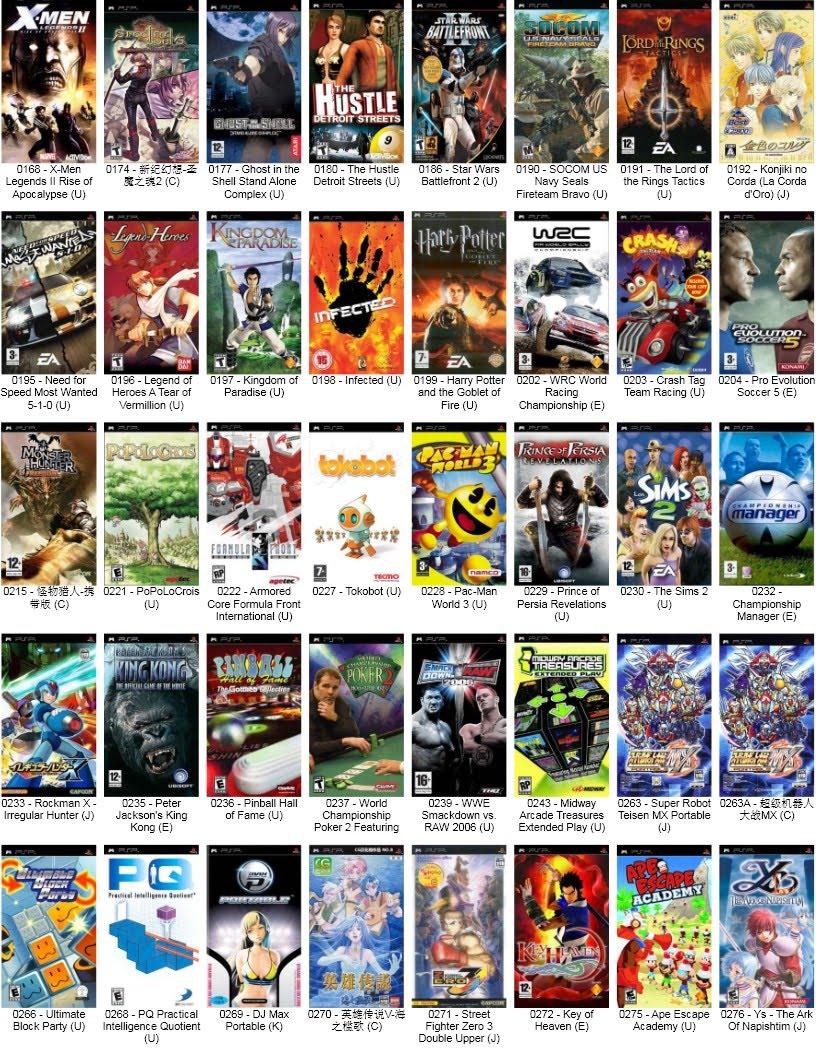 World Psp Game images