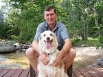 "Fred and ""Lady"", the Australian Shepherd Dog"