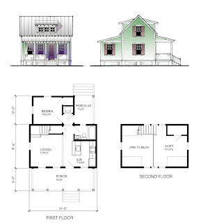 Katrina Cottage Plans katrina house interiors katrina cottage retirement and second home blog southern way of The Model Home Of The Katrina Cottage 697 Which Features A Vaulted Ceiling In The Living Room And Sleeping Loft Define The Open Feeling Of This Plan