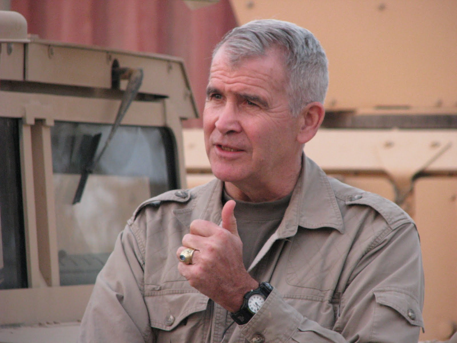 A biography of lieutenant colonel oliver l north