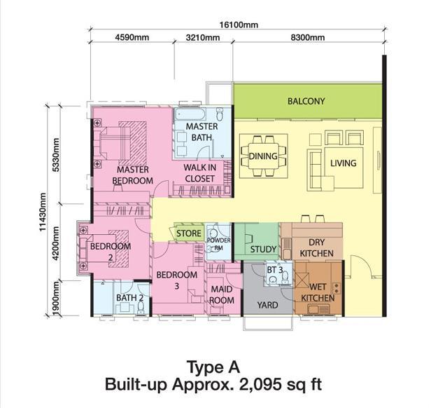 Bangsar South The Park Residences Acacia Floor Amp Layout