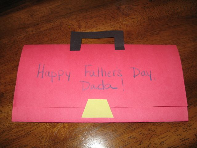 Preschool Crafts For Kids Father S Day Toolbox Card