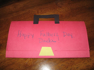 Preschool Crafts for Kids*: Father's Day Toolbox Card