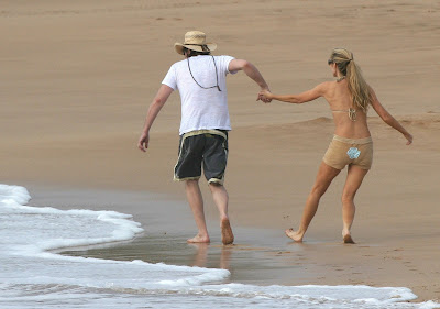 Denise Richards, Richie Sambora in Hawaii