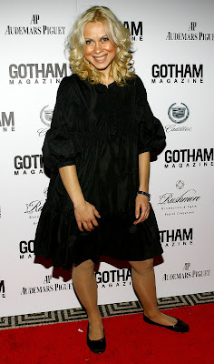 Oksana Baiul at Gotham Magazine's Seventh Annual Gala