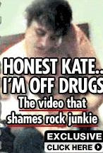 Pete Doherty Injects Himself with Cocaine