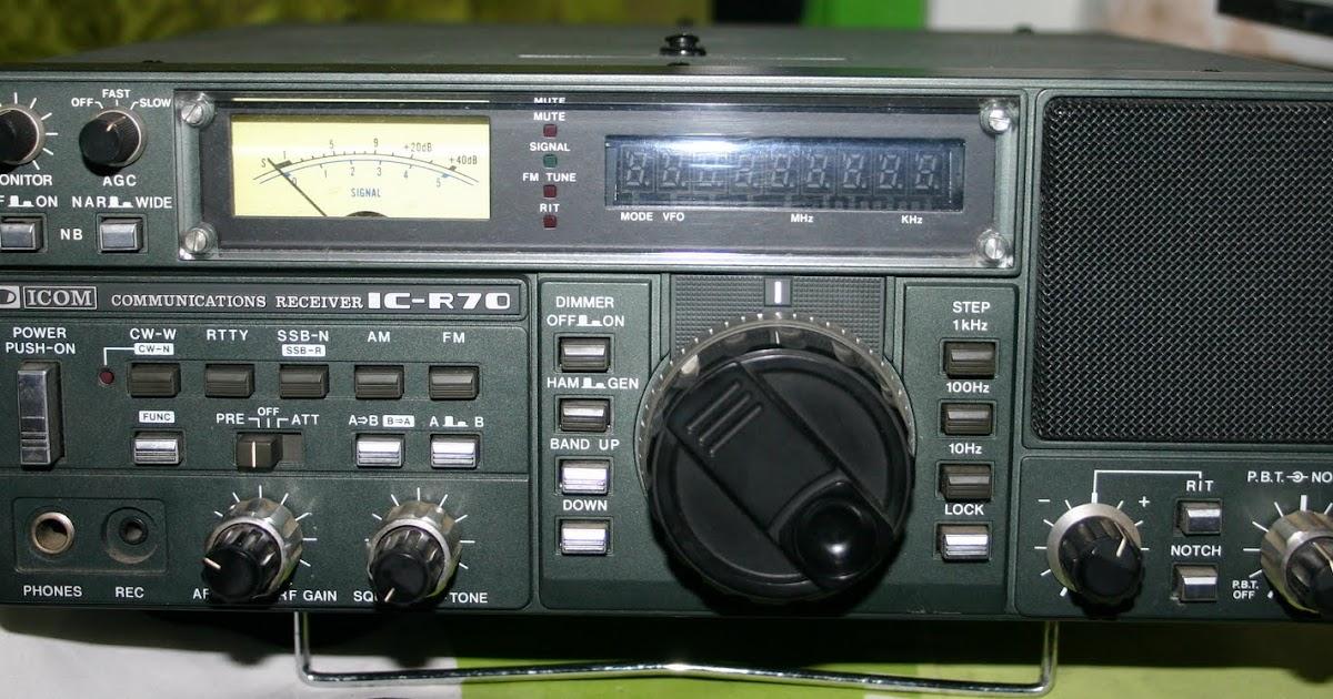 Icom R-70 Service Manual