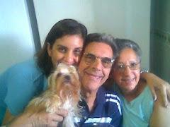 Minha filha, meu esposo e eu...