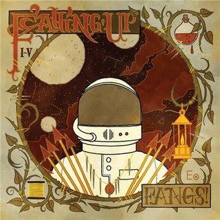 Capa de Fangs!, novo álbum da banda