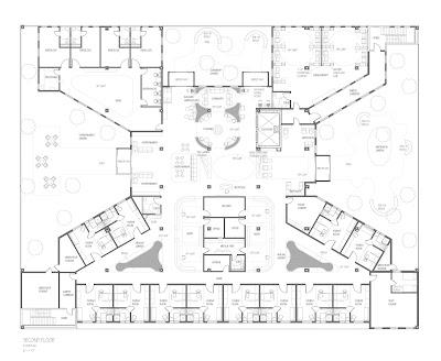 Senior Thesis Cancer Center Floor Plans