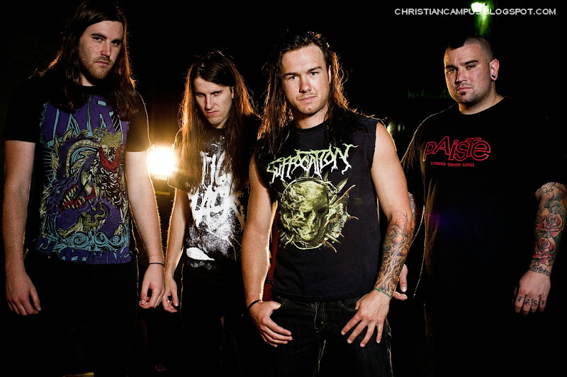 Impending Doom - There Will Be Violence 2010 band members