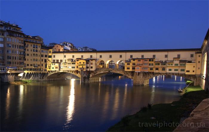 Мост Понте Векьо, Ponte Vechio, Флоренция