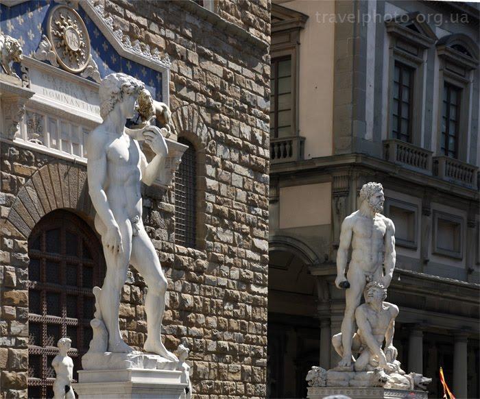 Достопримечательности Флоренции, Площадь Синьории. Давид