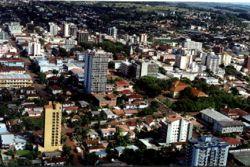 Vista da cidade de Ijuí/RS