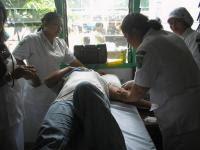 Pelaksanaan KB Kesehatan di Kecamatan Tapian Dolok