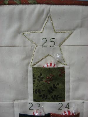 Hooked On Needles Advent Calendar Christmas Tree A