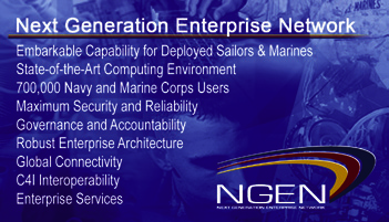 Navy NGEN and Cloud Computing