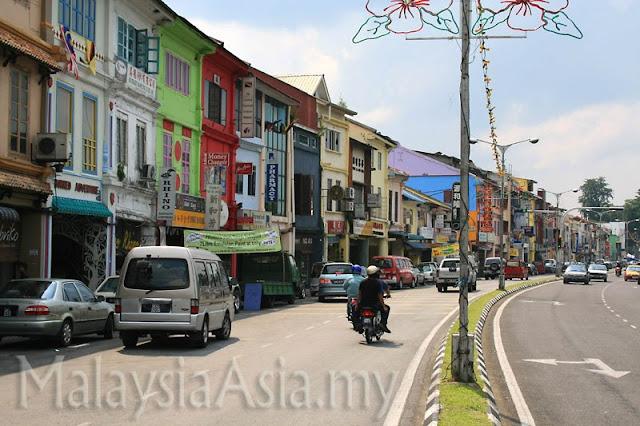 Main Bazaar in Kuching