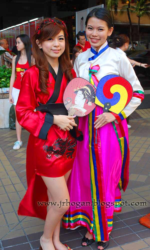 Girls at Matta Fair