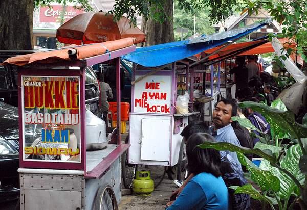 Hawker Food in Bandung