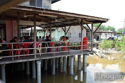 Famous restaurant in Kuala Selangor