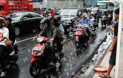 Traffic in Bandung