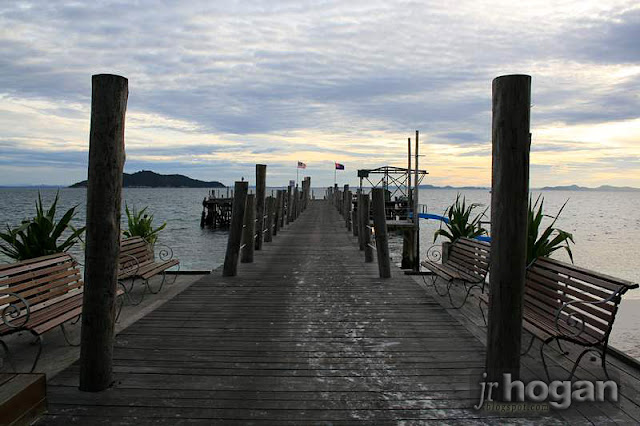 Jetty at Rawa Safaris Resort