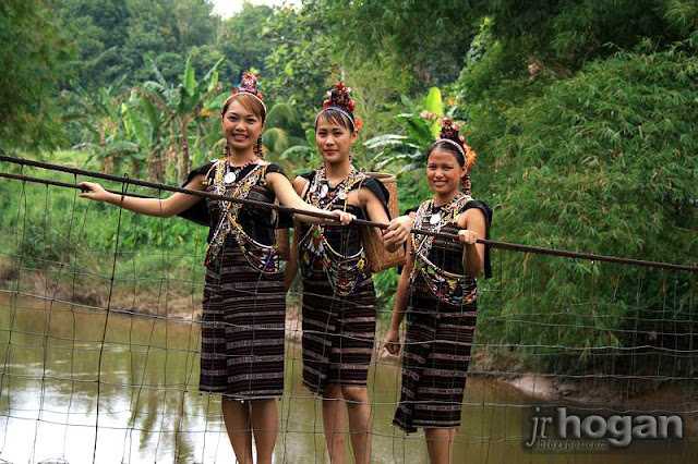 Traditional Rungus Women
