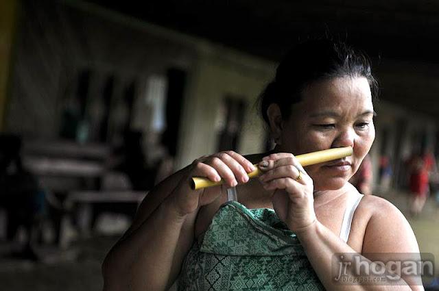 A Nose Flute by Penans