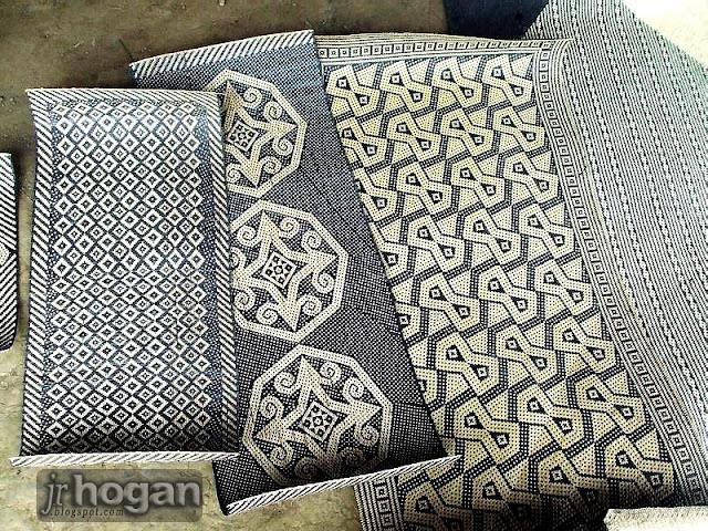 Weaved Penan Mats