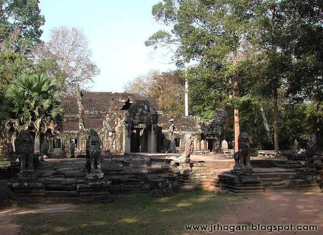 Entrance to Ta Prohm Temple