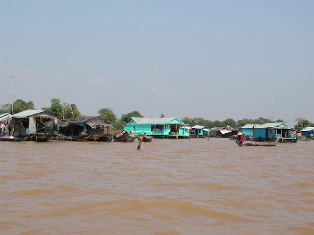 Floating Village Tonle Sap
