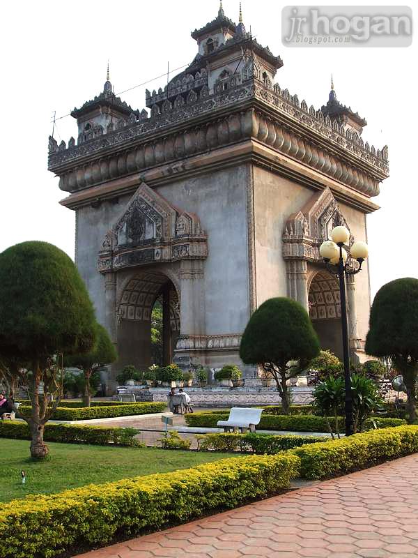 Patuxay Arch Laos