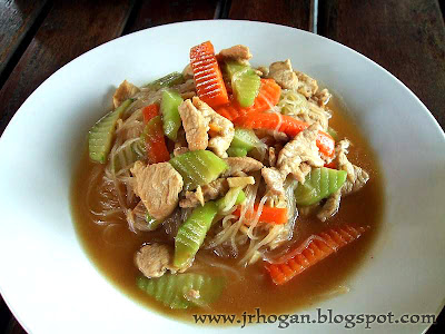 Rice Noodle Lao style