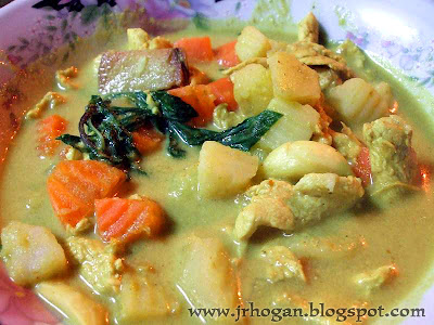 Yellow Chicken Curry Lao Style