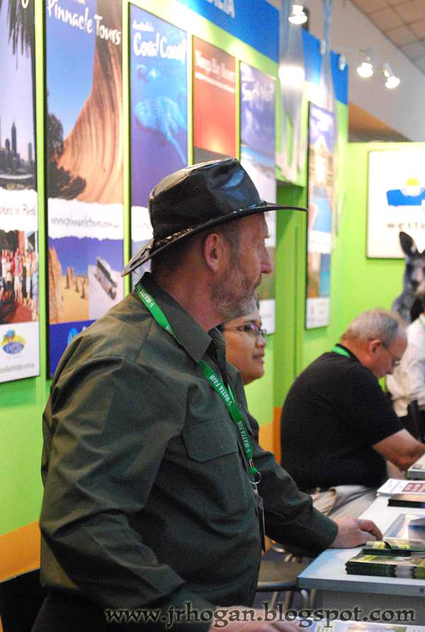 Matta Fair Tourism Australia Booth