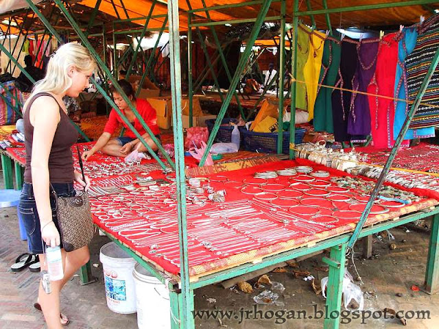 Hmong Market Luang Prabang