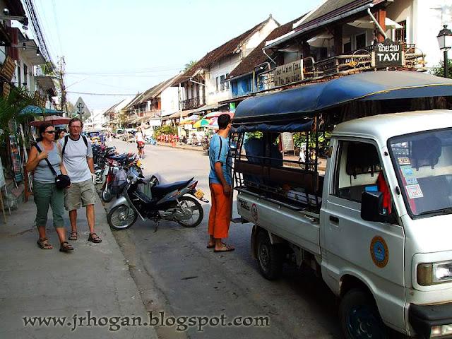 Streets in Luang Prabang