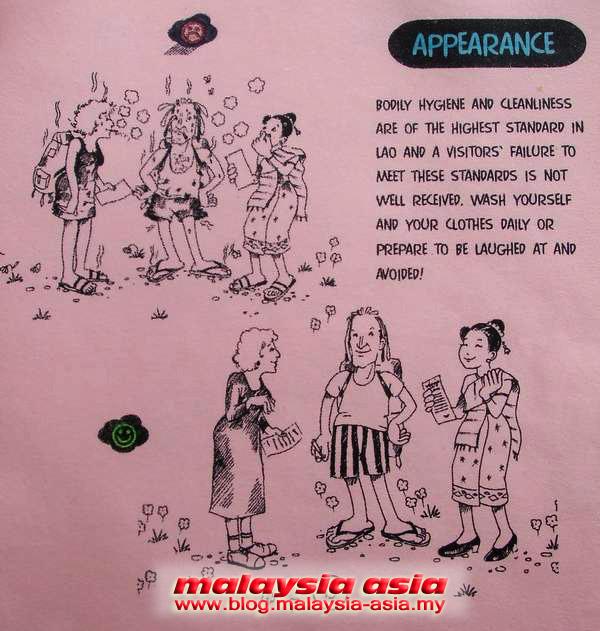 Laos Dress Etiquette