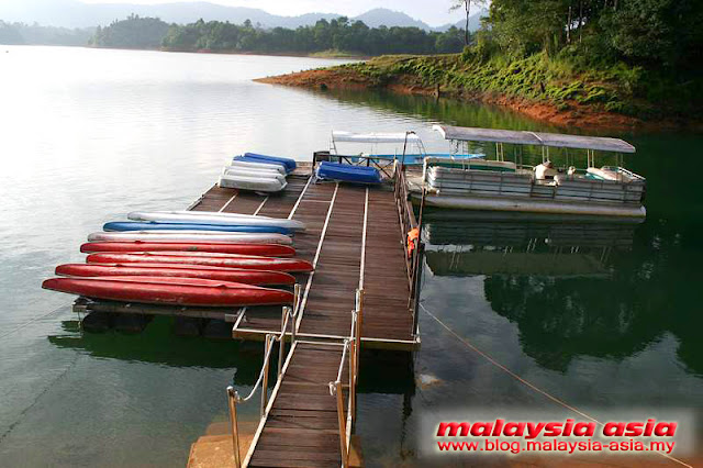 Jetty at Kenyir Eco Resort