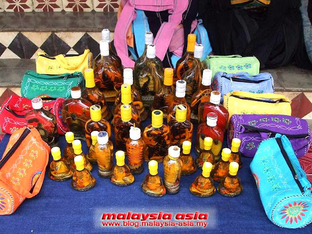 Snake Whiskey Laos