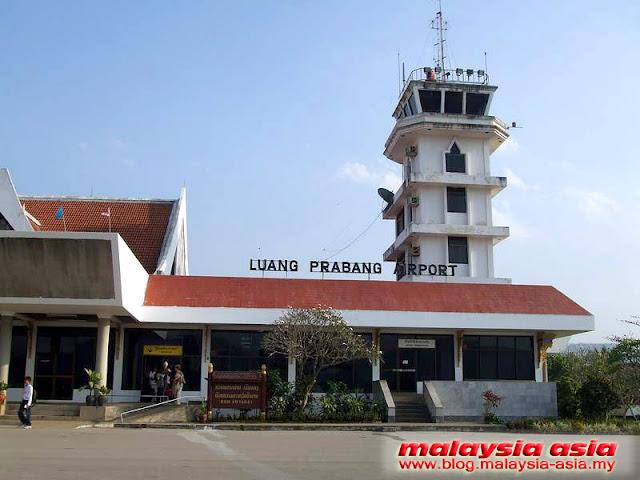 Airport in Luang Prabang
