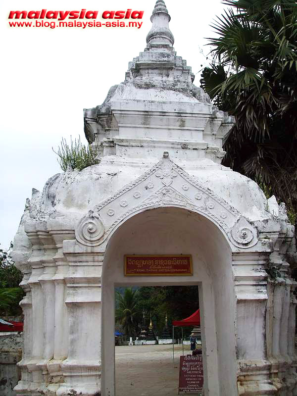 Wat Xieng Thong Temple Entrance