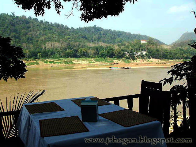 Mekong River Restaurant View