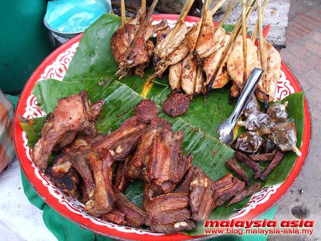 Grilled Meat Luang Prabang